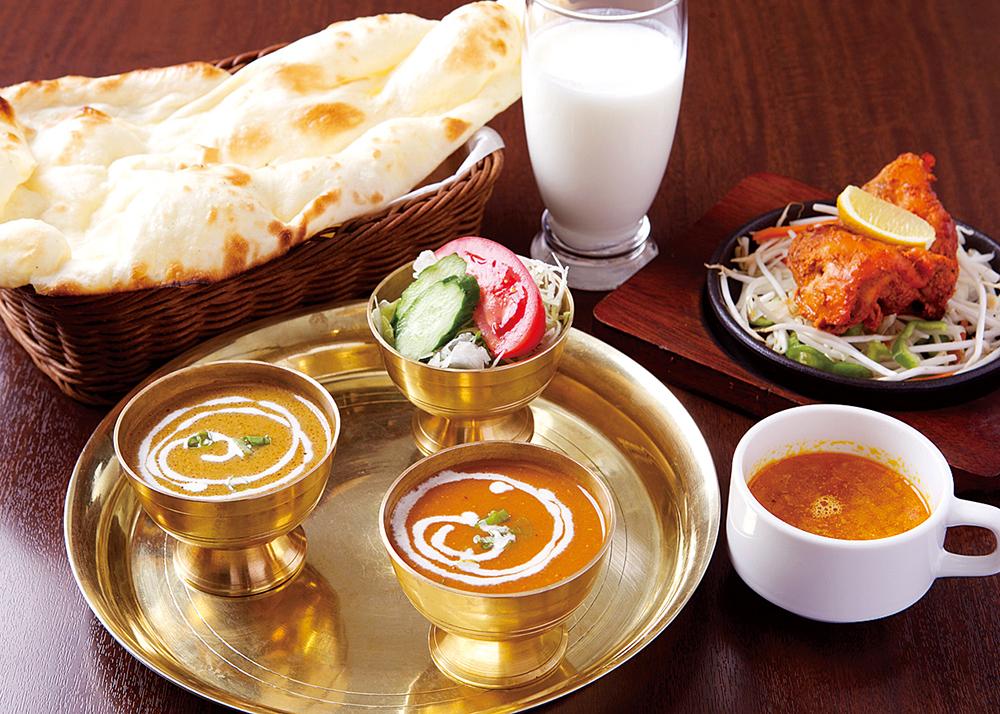 ミラン カレー インド 西の京