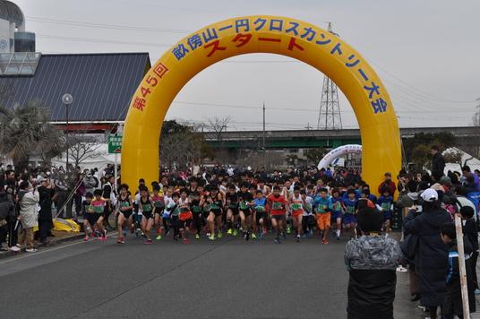 2018年、イベント、奈良県、橿原市、スポーツ、参加型イベント、体験、12月、1月、橿原シティマラソン、畝傍山一円クロスカントリー大会。