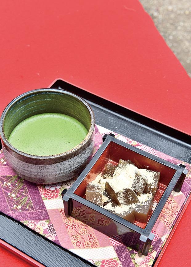 奈良っこ、水谷茶屋、奈良、抹茶。
