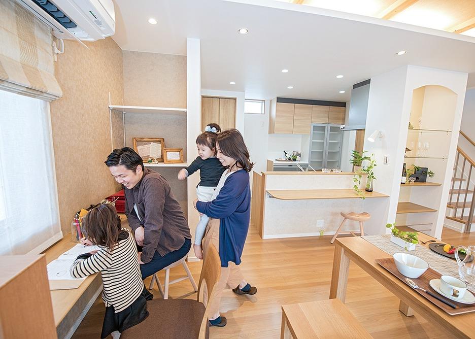 三和住宅、奈良の注文住宅、おすすめ。豊富な収納。narakko、奈良っこ、おすすめ店。