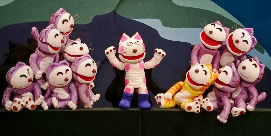 2019年、イベント、奈良県、大和高田市、ホール、6月、観劇、大和高田さざんかホール、人形劇団クラルテ、11ぴきのねことへんなねこ。