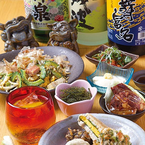 沖縄料理、がじゅまるの木。島直送の食材や無添加にこだわった素材の沖縄家庭料理と居心地の良さが人気。昼はボリューミーな定食、夜は一味工夫の沖縄メニューがそろう。暑き島のパワー食で夏バテも防げそう!オリオン生ビール、銘柄泡盛や絶品古酒も勢ぞろい♪奈良市おすすめグエルメ!