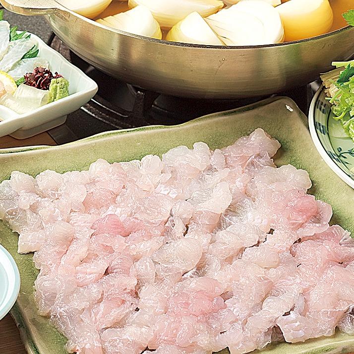 活魚・割烹 日本海。日本料理、淡路近海、天然物の生けす料理 極上のハモをフルコースで!橿原市グルメ
