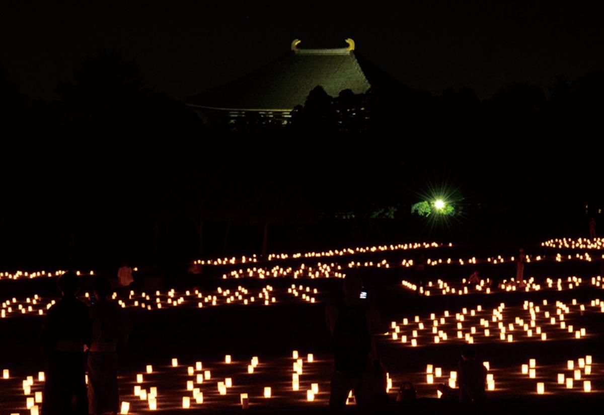 奈良っこ、なら燈花会