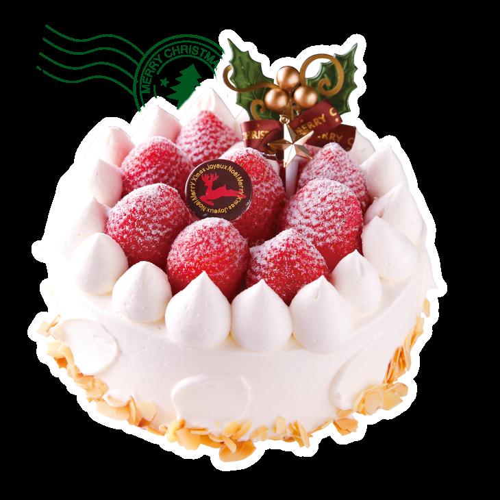 奈良ホテルのクリスマスケーキ。奈良県ブランド苺「古都華」と 純白のクリームで迎える聖夜 奈良の迎賓館仕様の逸品。リピーター続出の正統派ケーキは、しっとりと焼き上げたスポンジに軽やかな生クリームの優しい甘み、奈良の農家直送のブランド苺「古都華」のほどよい酸味が織り成す匠の味だ。Xmas伝統菓子『シュトーレン』もおすすめ。