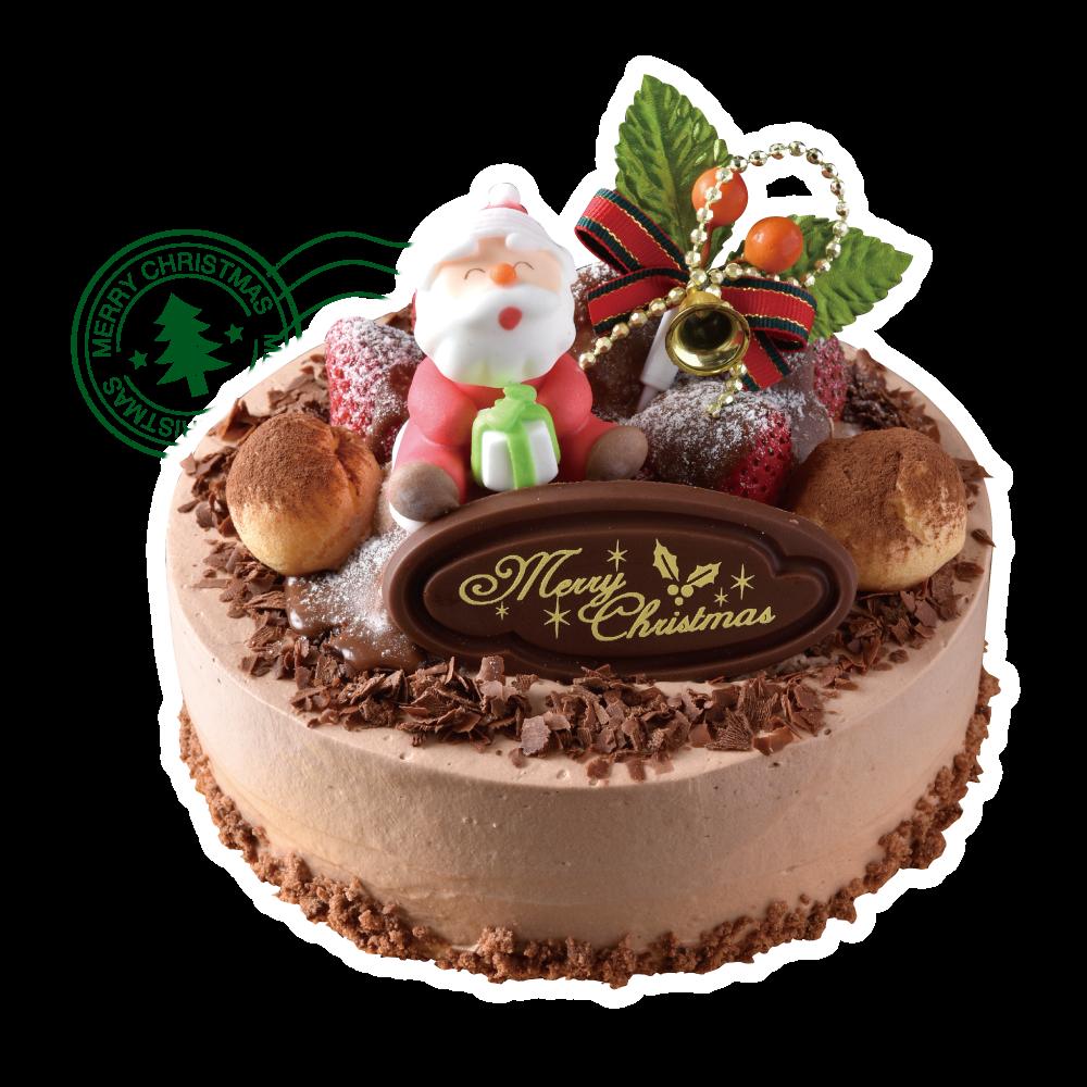 Sweets TAKEMURA(スイーツ タケムラ)誰もが大好き、生チョコの王道ケーキ 優しい味わいで地域に愛されるケーキ店。チョコスポンジにチョコクリームたっぷり、削りチョコを惜しみなく散らしてプチシューを乗っけたケーキは、オーソドックスながら人気ダントツ。家族みんなの「おいしい~♪」合唱が聞こえそう。