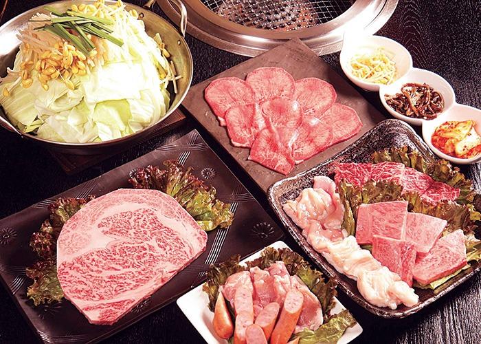 奈良県、広陵町、和牛焼肉、ホルモン、かすうどん、黒毛和牛