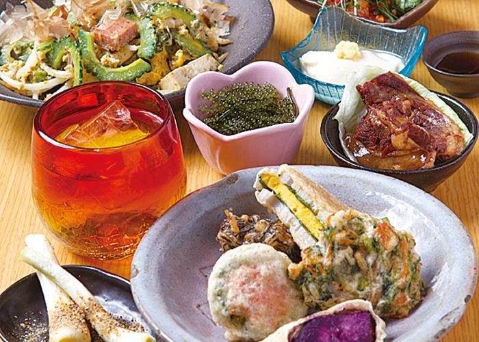 奈良市、沖縄料理、泡盛、古酒、ゴーヤチャンプルー