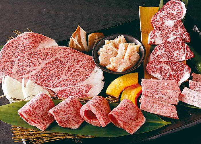 奈良市、山形牛、宴会コース、カルビ、ハラミ
