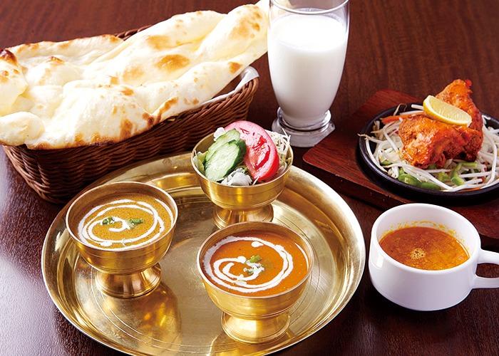 Milanミランみらん西の京、奈良市、カレー、インド料理、ナン、インド料理の専門店。
