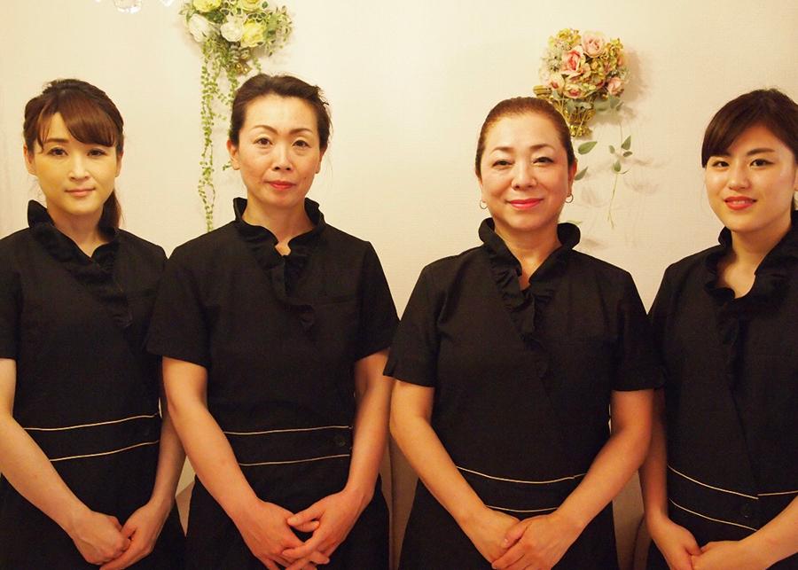 日本エステティック協会プレミアムサロンダンブランシェ。奈良県奈良市トータルビューティーサロン。