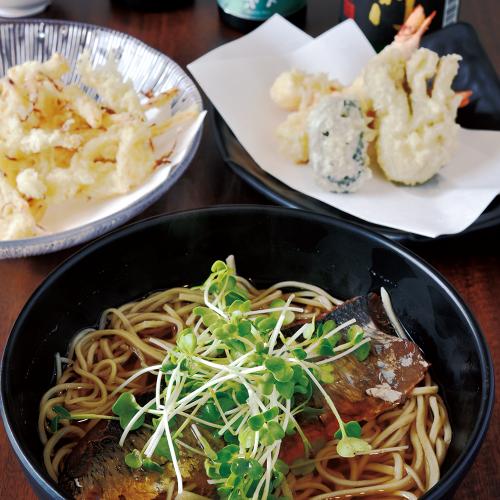奈良っこ、たぬき、奈良、蕎麦、そば。