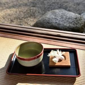 奈良っこ、依水園、奈良、抹茶。